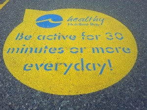 Be active for 30 minutes or more everyday!